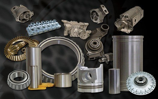 Quality replacement parts for Caterpillar, Komatsu and Volvo machines.